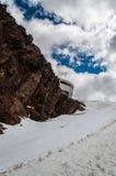Stubai Tirol, estação do esqui Imagem de Stock