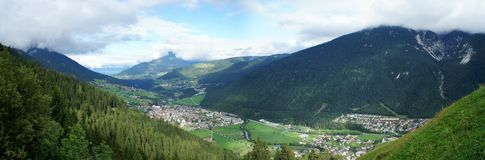 The Stubai Valley in Tyrol, Austria Royalty Free Stock Images