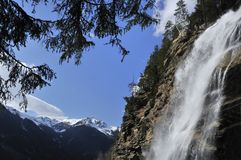 Stubai Waterfall Stock Images
