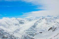 Stubaier Gletscher Royalty-vrije Stock Fotografie