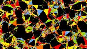 Stubarwna Atomowa sieci formacja ilustracji
