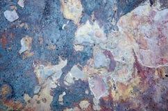 Stubarwna i Stara ceramiczna tekstura lub tło Zdjęcie Royalty Free