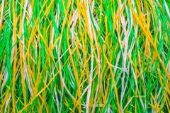Stubarwna supłająca koronka nić kolor tła abstrakcyjne Fotografia Royalty Free