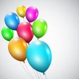 Stubarwni balony Obraz Royalty Free