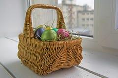 stubarwni Easter jajka Obraz Stock