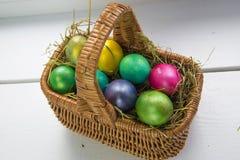 stubarwni Easter jajka Zdjęcie Royalty Free