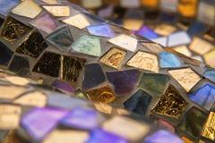 Stubarwni kawałki szkło Obrazy Stock
