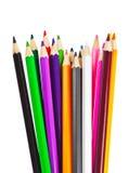 Stubarwni ołówki Obraz Royalty Free