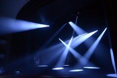 Stubarwni promienie światło Obraz Royalty Free