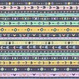Stubarwny ethno wzór Zdjęcie Royalty Free