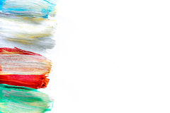 Stubarwny farba projekt dla abstrakcjonistycznego tekstury tła Fotografia Royalty Free