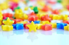 Stubarwny gwiazda cukierek Zdjęcie Stock