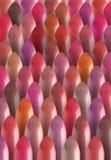 Stubarwny kolor wiele pomadek wzór Zdjęcie Stock