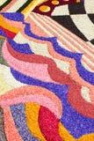 Stubarwny kwiecisty dywan obrazy stock
