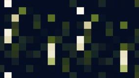 Stubarwny mruganie piksli ruchu tło Kolorowy mruganie piksli ruchu tło Cyfrowej Multimedialna mozaika ilustracja wektor