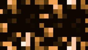 Stubarwny mruganie piksli ruchu tło Kolorowy mruganie piksli ruchu tło Cyfrowej Multimedialna mozaika royalty ilustracja