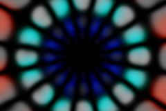 Stubarwny promieniowy okręgu zmroku wzór obrazy stock