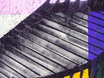 Stubarwny tło, drewniana malująca powierzchnia Zdjęcia Royalty Free