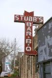 Stubb's BBQ - Austin Texas Stock Photography