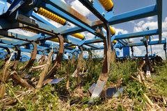 Stubble cultivator Royalty Free Stock Photos