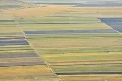 Stubble Fields in Dobrogea Stock Image
