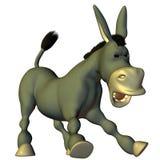 Stubbornly donkey royalty free illustration