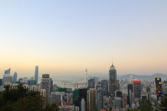 Stubbs Road lookout wan chai Stock Photos