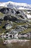 Stubelesee, glacier lake, Carinthia, Austria Stock Photography
