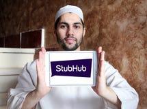 StubHub-Kartenaustausch-Firmenlogo Lizenzfreies Stockbild