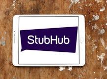 StubHub-Kartenaustausch-Firmenlogo Lizenzfreie Stockfotos
