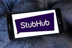 StubHub-Kartenaustausch-Firmenlogo Stockbilder