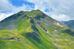 从Stubnerkogel,坏Gastein,缆索铁路,奥地利的方式 库存图片