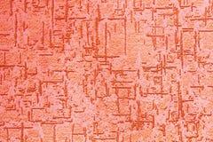 Stuc structurel de vintage rouge Image stock
