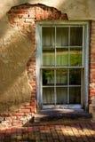 Stucco über historischem Gebäude Lizenzfreie Stockfotos