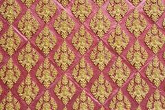 Stucco art, thai pattern Stock Image