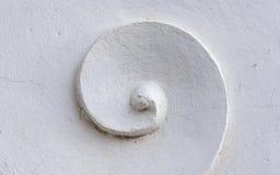 Stucco bianco Fotografia Stock