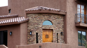 Arizona House Front Entrance Stock Photography