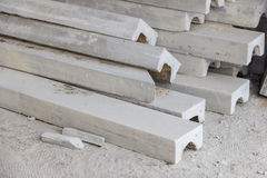Stucco Cornice Concrete. Cement industry eyebrows statue,Stucco Cornice Concrete Stock Photos