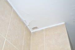 Stucco cracks on ceiling Royalty Free Stock Photos