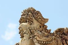 Stucco del Leo Immagini Stock