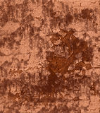 Stucco esposto all'aria della sbucciatura della vernice Fotografia Stock Libera da Diritti