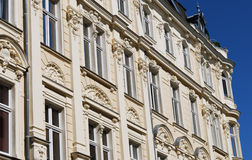 Stucco facade germany Stock Image