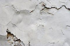 Stucco incrinato - fondo di lerciume Immagine Stock Libera da Diritti