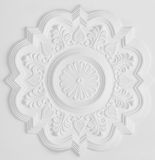 Stucco moulding rosette Stock Photo