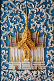 The stucco  of native thai style Royalty Free Stock Photos