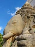 Stucco potente della sabbia di Ganesha fotografia stock libera da diritti