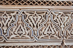 Stucco and stonework, Morocco Stock Image