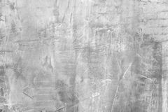 Stucco Texture. Texture of raw plastered wall with grey cement plaster - stucco royalty free stock images