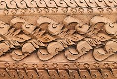 Stucco thai style Stock Photography