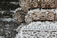 Stucco in thai style Stock Images